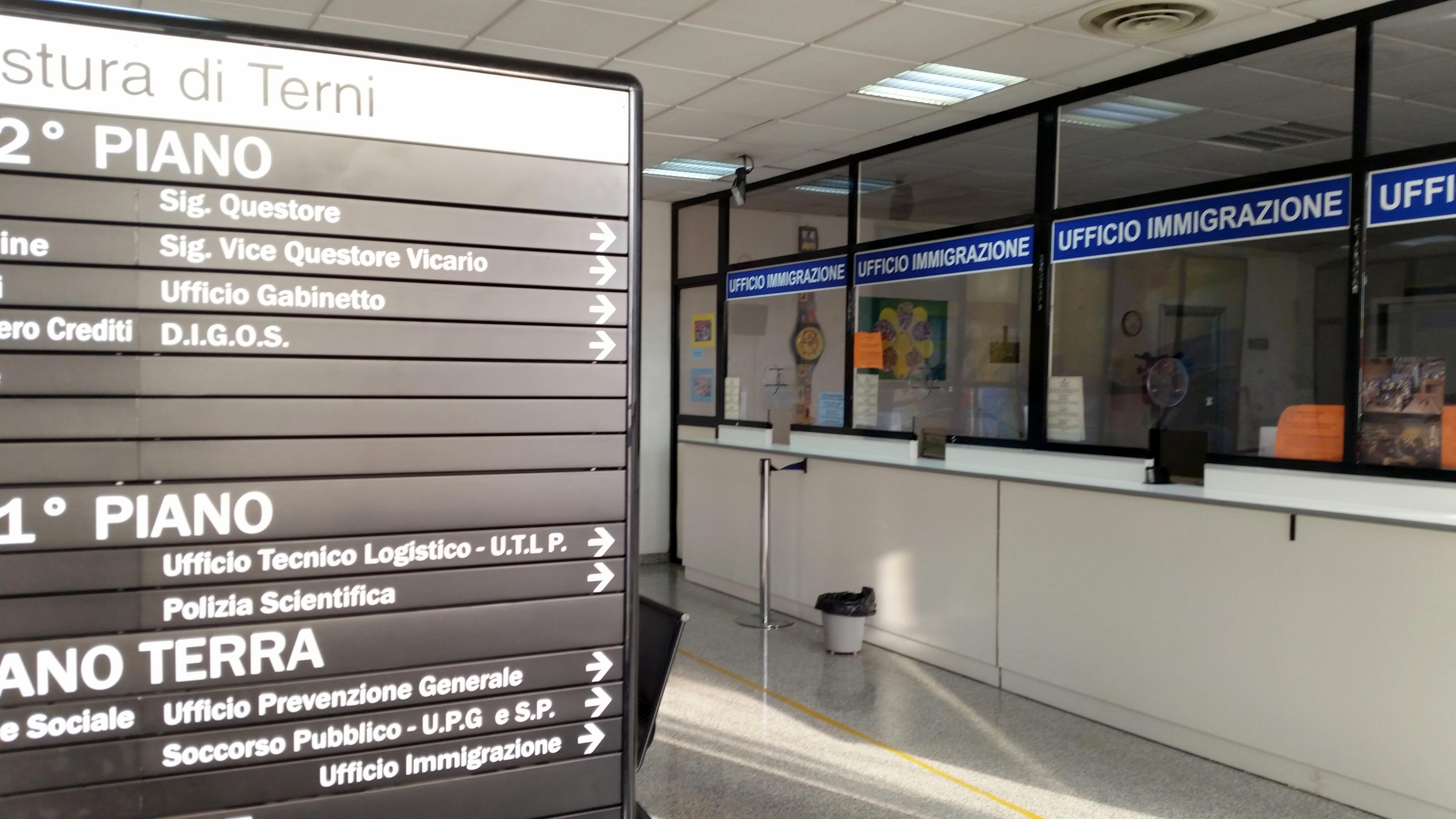 Terni, stranieri irregolari: Tre espulsioni - Cronache24