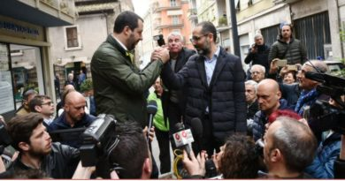 Matteo Salvini questa sera a Terni in Piazza della Repubblica