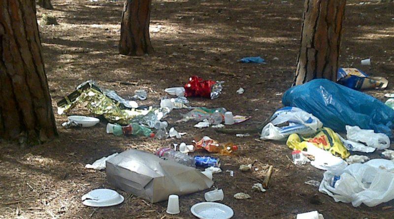 Narni, rifiuti nei boschi: un esercito di 100 volontari