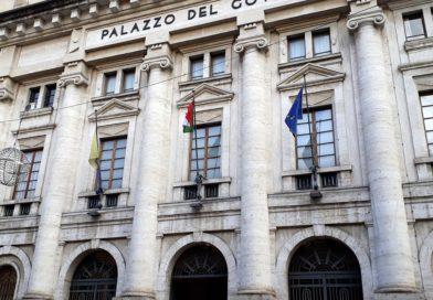 Terni, il presidente della Provincia Lattanzi e il prefetto De Biagi premiano Mario Pescante