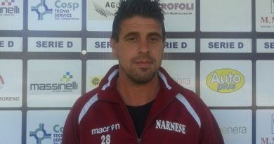 Calcio, la Narnese richiama Sabatini per centrare i play off