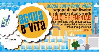 """Il Sii lancia la campagna """"Acqua è vita"""" rivolta alle giovani generazioni"""