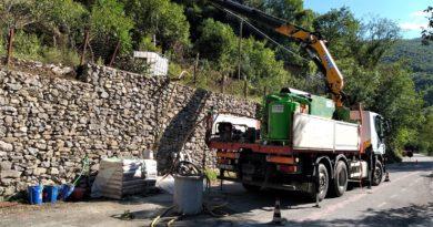 Strade, la Provincia installa barriere paramassi a Ferentillo e Otricoli
