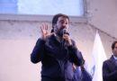 """Narni, Salvini in città: """"Il 27 ottobre Tesei sarà presidente"""""""