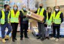 Terni, i Lions donano cibo e panettoni alle famiglie bisognose