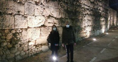 Illuminazione mura cittadine Terni