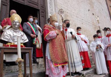 Narni, la città si aggrappa al suo patrono San Giovenale nell'anno della pandemia